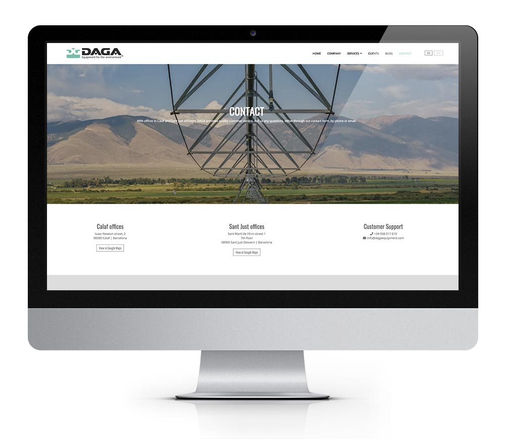 daga equipment web